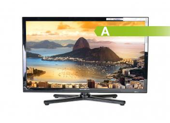 Téléviseur LED 19 pouces / DVB-T2 / avec antenne