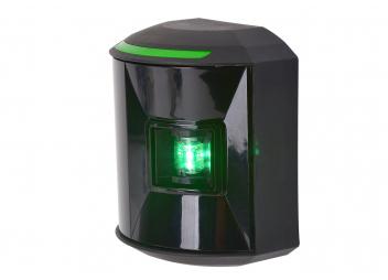 Feu tribord à LED Série 44 / boîtier noir
