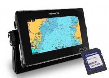 AXIOM 7 GPS avec cartographie Navionics+ Small préprogrammée.