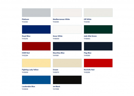 International PERFECTION apporte une finition de haute qualité et durable. Plusieurs coloris sont disponibles et un additif mat peut être ajouté.  (Image 2 de 2)