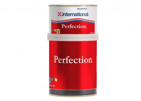 International PERFECTION apporte une finition de haute qualité et durable. Plusieurs coloris sont disponibles et un additif mat peut être ajouté.  (Image 1 de 2)