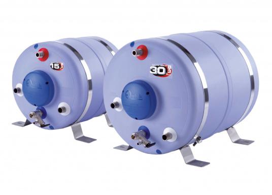 Ces chauffe-eau sont fabriqués avec des cuves en acier inox. L'isolation thermique est assurée par de la mousse polyuréthane haute densité. Disponibles en plusieurs dim (Image 1 de 5)