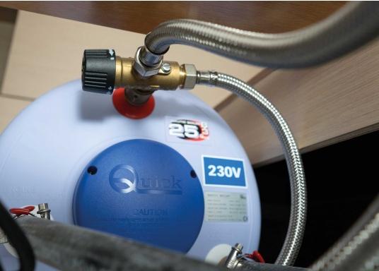 Ces chauffe-eau sont fabriqués avec des cuves en acier inox. L'isolation thermique est assurée par de la mousse polyuréthane haute densité. Disponibles en plusieurs dim (Image 5 de 5)