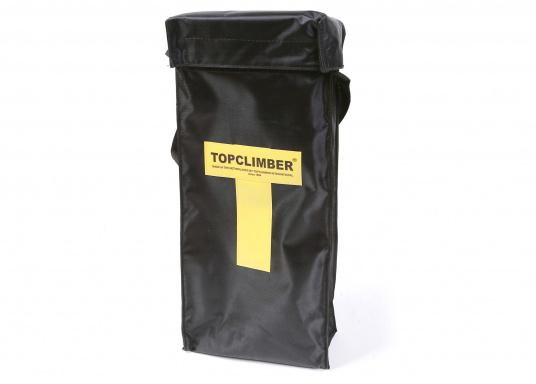 Topclimber® permet de monter seul au mât avec une chaise. Utilisation facile. Charge de travail maxi : 200 kg  (Image 3 de 9)