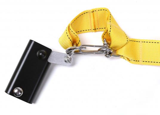 Topclimber® permet de monter seul au mât avec une chaise. Utilisation facile. Charge de travail maxi : 200 kg  (Image 6 de 9)