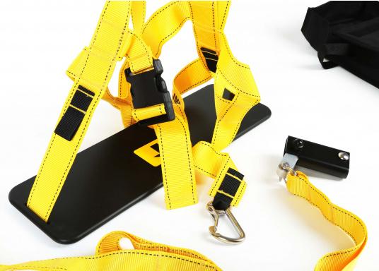 Topclimber® permet de monter seul au mât avec une chaise. Utilisation facile. Charge de travail maxi : 200 kg  (Image 5 de 9)