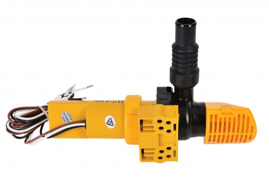 Ces pompes de cale automatiques apportent une forte capacité et un fonctionnement contrôlé dans un minimum d'espace. Elles sont faciles à installer, même dans les cales exigües ou sous un moteur.  (Image 2 de 4)
