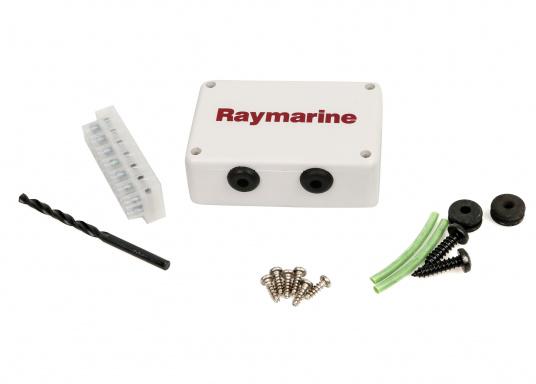 La Girouette-anémomètre Raymarine i60 Wind combine un affichage analogique et digital. Il calcule la vitesse et l'angle du vent réel et apparent, la vitesse du vent maximum. Livré avec un capteur de tête de mât et son câble.  (Image 4 de 7)