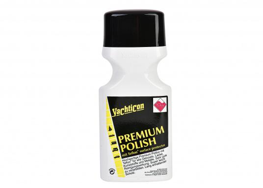Pâte à polir au Teflon® de haute qualité. Nettoie et protège les gelcoats et surfaces peintes. (Image 1 de 1)