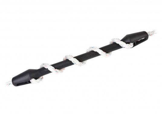 Protèger le cordage et le bateau! Ces amortisseurs d'amarres en caoutchouc EPDM sont déstinés à des charges importantes. La dureté de l'amortisseur peut être ajustée facilement  (Image 1 de 4)