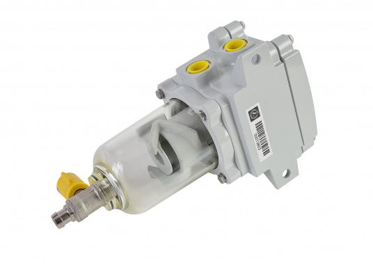 Le SEPAR SWK 2000 est un filtre séparateur pour diesel. Il a été testé GL, Lloyds, RINA et TÜV. Plusieurs versions sont disponibles.  (Image 2 de 2)