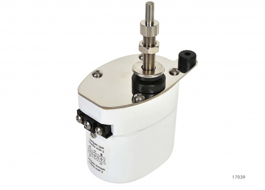 Kit d'essuie-glaces électriques. Comprend le moteur avec boîtier inox. Disponibles en 12 ou 24 volts.  (Image 4 de 6)