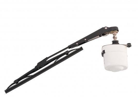 Kit d'essuie-glaces électriques. Comprend le moteur avec boîtier inox. Disponibles en 12 ou 24 volts.  (Image 1 de 6)