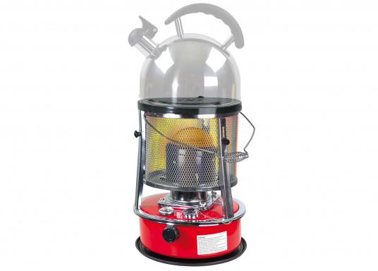 Ce poêle àpétroleapporte chaleur et confort à bord ou dans n'importe quel local. Avec un réservoir de 5litres, l'autonomie est d'environ 17 heures.  (Image 3 de 16)