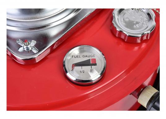 Ce poêle àpétroleapporte chaleur et confort à bord ou dans n'importe quel local. Avec un réservoir de 5litres, l'autonomie est d'environ 17 heures.  (Image 6 de 16)