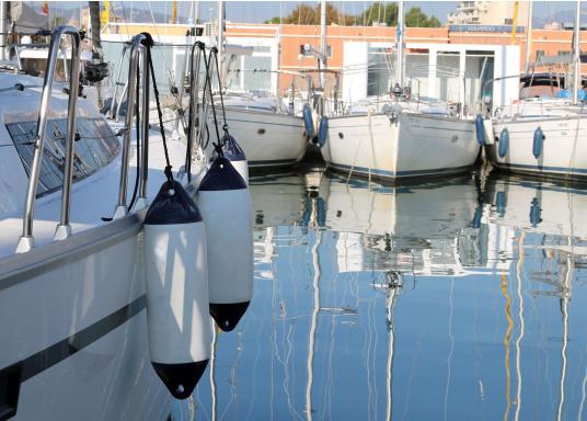 haute qualité anneaux renforcés utilisable à la verticale ou à l'horizontale convient à la plaisance ou pour des petits bateaux de travail   (Image 5 de 5)