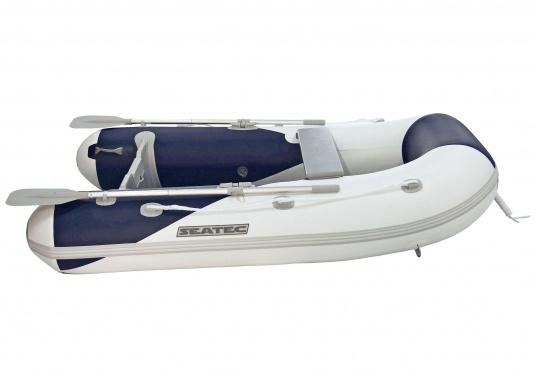 Ces bateaux pneumatiques SEATEC YACHTING sont non seulement destinés à l'utilisation comme annexe, mais ils conviennent aussi pour une utilisation de pêche ou de promenade.   (Image 2 de 7)
