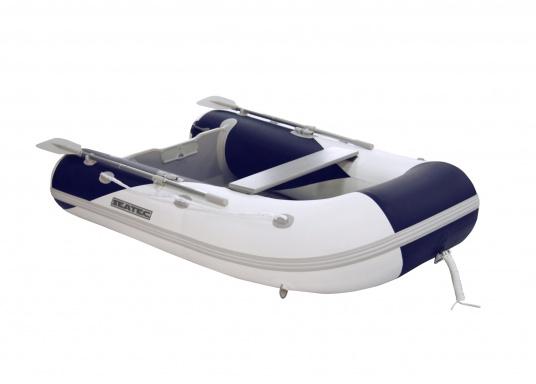 Ces bateaux pneumatiques SEATEC YACHTING sont non seulement destinés à l'utilisation comme annexe, mais ils conviennent aussi pour une utilisation de pêche ou de promenade.   (Image 1 de 7)