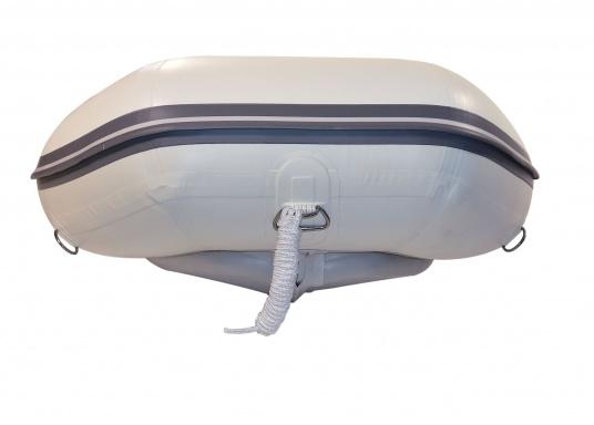 Le nouveau pneumatique SEATEC conjugue les avantages des bateaux à fond latté avec ceux des semi-rigides : une carène stable, un excellent maniement, un poids réduit et une forte capacité de charge.   (Image 3 de 8)