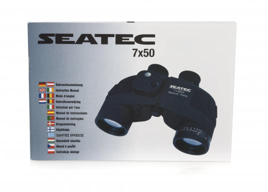 Les jumelles SEATEC TARGET 7x50 sont spécialement destinées à l'usage en mer.   (Image 13 de 13)