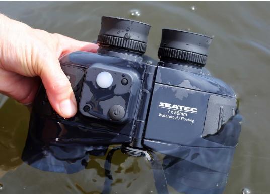 Les jumelles SEATEC TARGET 7x50 sont spécialement destinées à l'usage en mer.   (Image 5 de 13)