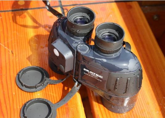 Les jumelles SEATEC TARGET 7x50 sont spécialement destinées à l'usage en mer.   (Image 6 de 13)