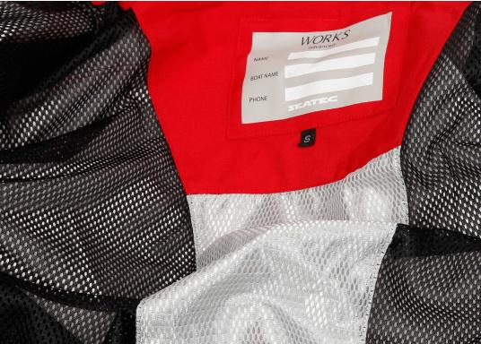 Vêtements très fonctionnels, durables et confortables. 100% imperméable et coupe-vent avec une respirabilité exceptionnelle. Parfaits pour les navigations au large. Domaines d'application : Parfait pour les navigations au large. REMARQUE ! Veuillez préciser votre taille dans les commentaires de votre commande.   (Image 5 de 19)