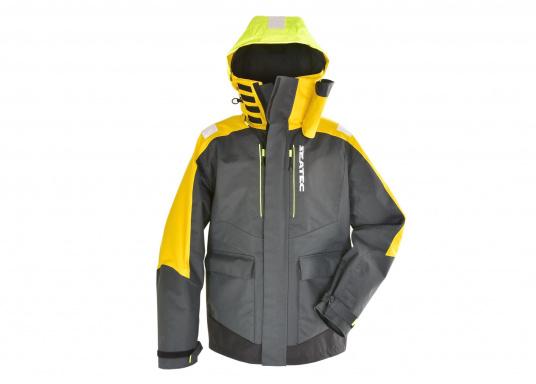 Vêtement très fonctionnel, durable et confortable. 100% imperméable et coupe-vent avec une respirabilité exceptionnelle. Idéal pour les navigations. REMARQUE ! Veuillez préciser votre taille dans les commentaires de votre commande.  (Image 6 de 17)