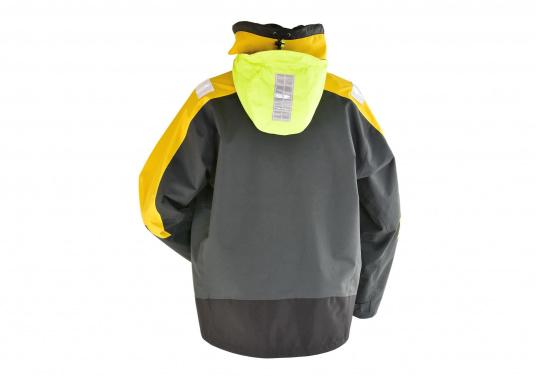 Vêtement très fonctionnel, durable et confortable. 100% imperméable et coupe-vent avec une respirabilité exceptionnelle. Idéal pour les navigations. REMARQUE ! Veuillez préciser votre taille dans les commentaires de votre commande.  (Image 8 de 17)