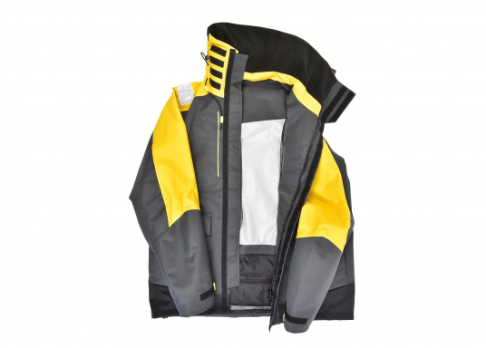 Vêtement très fonctionnel, durable et confortable. 100% imperméable et coupe-vent avec une respirabilité exceptionnelle. Idéal pour les navigations. REMARQUE ! Veuillez préciser votre taille dans les commentaires de votre commande.  (Image 5 de 17)