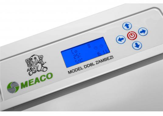 Le déshumidificateur le plus évolué et intelligent du marché ! Le MAECO DD8L ZAMBEZI répond à toutes vos attentes. Le DD8L offre plus de fonctions et des caractéristiques plus riches que n'importe quel autre déshumidificateur. (Image 12 de 19)