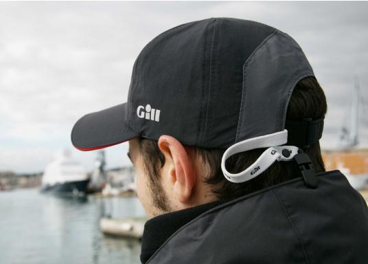 La casquette Race Cap est en toile légère et résistante à l'eau, bénéficie d'une protection UV de 50+ (Image 3 de 3)