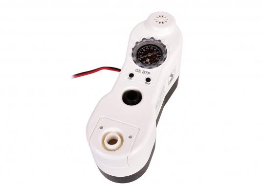 Ce gonfleur électrique est parfait pour gonfler et dégonfler : SUP gonflables, bateaux pneumatiques, bouées, défenses, matelas pneumatiques, etc. (Image 1 de 9)
