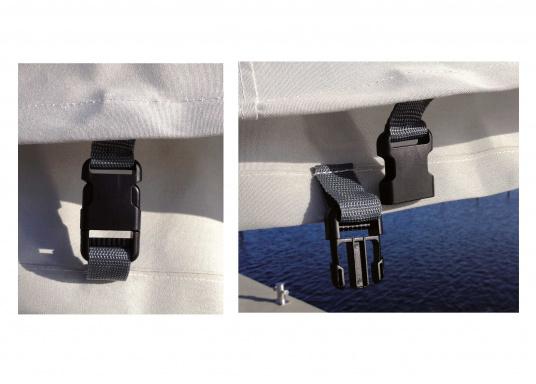 Taud de grand-voile résistant à toutes les conditions de temps. Tissusrespirant et anti-UV. Plusieurs dimensions sont disponibles.  (Image 3 de 3)