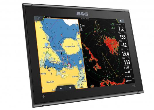 """Muni de fonctions de navigation innovantes et primées, la nouvelle gamme d'écran multifonction Vulcan de B&G est une référence pour tout les marins. Il est caractérisé par un écran tactile 12"""", un GPS intégré, le WiFi, des technologies de sonar avancées. Transducteur non inclus. (Image 2 de 15)"""