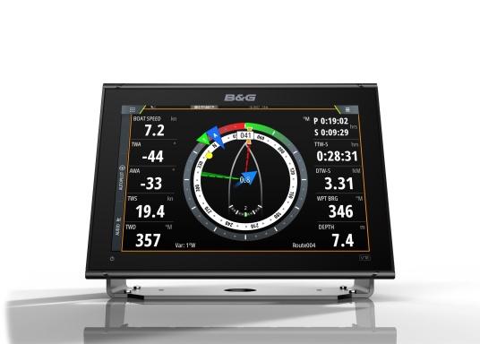 """Muni de fonctions de navigation innovantes et primées, la nouvelle gamme d'écran multifonction Vulcan de B&G est une référence pour tout les marins. Il est caractérisé par un écran tactile 12"""", un GPS intégré, le WiFi, des technologies de sonar avancées. Transducteur non inclus. (Image 4 de 15)"""
