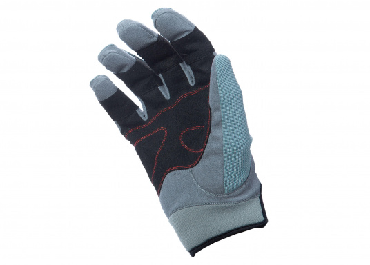 Ces gants sont faits pour affronter les conditions extrêmes. Des doubles renforts aux doigts et aux paumes limitent l'usure. Doigts longs. (Image 3 de 5)
