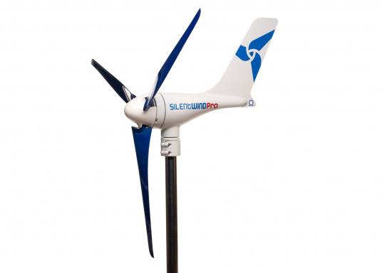 Cette éolienne est conçue par des marins pour des marins. Elle se caractérise par une grande performance, même par vent faible. Tension : 12 V. (Image 6 de 7)