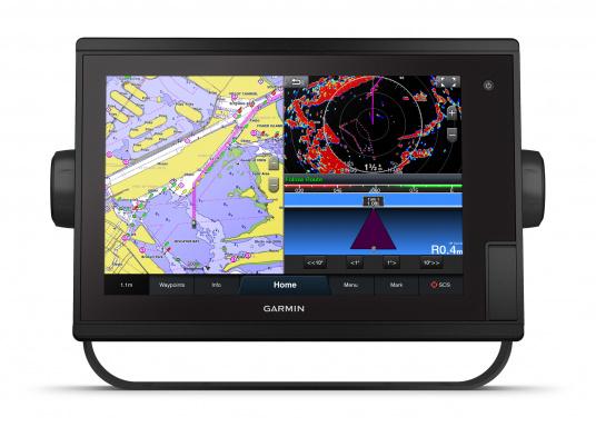 """Le GPS tactile intuitif GPSMAP 1222 Plus est lumineux et facile à lire même en plein soleil grâce à l'antireflet. La fonction d'affichage des cartes de l'écran tactile 12"""" est facile à utiliser et s'intègre parfaitement à votre système marin Garmin. (Image 6 de 12)"""