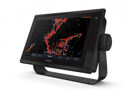 """Le GPS tactile intuitif GPSMAP 1222 Plus est lumineux et facile à lire même en plein soleil grâce à l'antireflet. La fonction d'affichage des cartes de l'écran tactile 12"""" est facile à utiliser et s'intègre parfaitement à votre système marin Garmin. (Image 1 de 12)"""