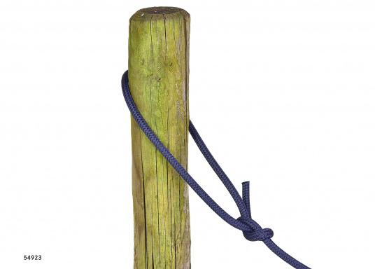 Le meilleur de deux techniques pour cette amarre. L'âme polyamide offre l'élasticité requise et la gaine polyester robuste lui procure une excellente protection. Disponible en plusieurs couleurs et diamètres.  (Image 6 de 7)