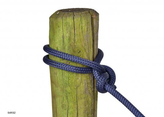 Le meilleur de deux techniques pour cette amarre. L'âme polyamide offre l'élasticité requise et la gaine polyester robuste lui procure une excellente protection. Disponible en plusieurs couleurs et diamètres.  (Image 7 de 7)