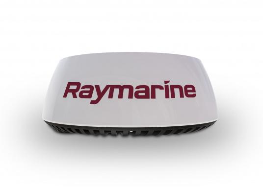 Radar Raymarine Quantum 2 avec technologie anti-collision Doppler. Le radar à compression d'impulsions CHIRP de nouvelle génération Quantum 2 de Raymarine offre une détection des cibles supérieure sur les portées longues et extrêmement courtes. Livré avec câbles de 15 mètres d'alimentation et data. (Image 2 de 4)