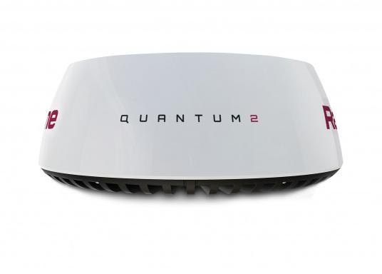 Radar Raymarine Quantum 2 avec technologie anti-collision Doppler. Le radar à compression d'impulsions CHIRP de nouvelle génération Quantum 2 de Raymarine offre une détection des cibles supérieure sur les portées longues et extrêmement courtes. Livré avec câbles de 15 mètres d'alimentation et data. (Image 1 de 4)