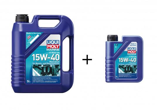 Huile moteur haute performance universelle basée sur des huiles de base et des additifs modernes. Assure une lubrification optimale même dans des conditions extrêmes et une protection fiable contre l'usure. (Image 1 de 1)