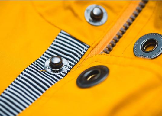 Cette élégante veste NILAS de Marinepool vous protège du vent et de la pluie. Avec la doublure fourrée, cette veste deux-couches vous garde au chaud. (Image 11 de 14)