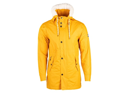 Cette élégante veste NILAS de Marinepool vous protège du vent et de la pluie. Avec la doublure fourrée, cette veste deux-couches vous garde au chaud. (Image 8 de 14)