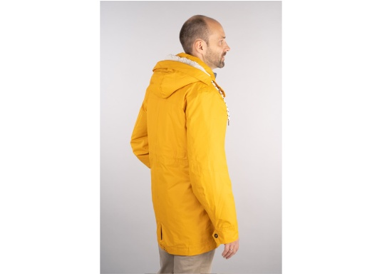 Cette élégante veste NILAS de Marinepool vous protège du vent et de la pluie. Avec la doublure fourrée, cette veste deux-couches vous garde au chaud. (Image 7 de 14)