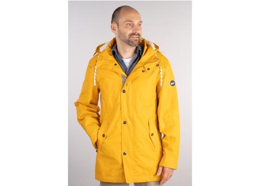 Cette élégante veste NILAS de Marinepool vous protège du vent et de la pluie. Avec la doublure fourrée, cette veste deux-couches vous garde au chaud. (Image 1 de 14)