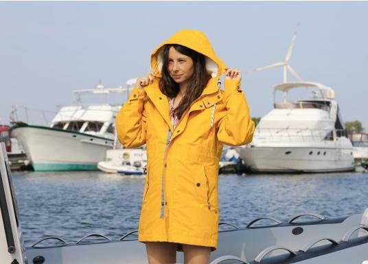 Cette élégante veste NILAS de Marinepool vous protège du vent et de la pluie. Avec la doublure fourrée, cette veste deux-couches vous garde au chaud. (Image 5 de 14)